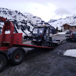 Snow Rabbits wechseln in Oberlech/Spitzenegg