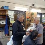 Verabschiedungszeremonie und Essen mit Bürgermeister Stefan in der Bauhof Werkstatt. Danke Robert für die stets gute und kollegiale Zusammenarbeit, genieß deine Pension!