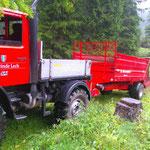 Begrünung Spullerwald, mit U1600