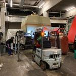 Bauhofgarage aufräumen