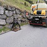 Tagwasserkanäle spülen Stubenbach, mit U 530