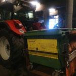 Fertigstellung und Test Heckcontainer Traktor