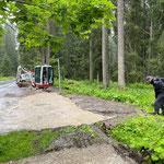 Parkplätze Waldbad sanieren