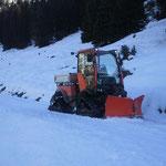 Winterwanderweg-Präparierung Gölda Boda und Bürstegg