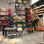 Altholz aufarbeiten = Grillholz für Grillstellen