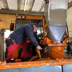 Reparaturarbeiten Kamin Rolba 1500