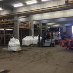 Aufräumarbeiten Bauhof