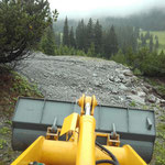 Forstwege mit Schottermaterial sanieren