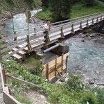 Brücke Bodenalpe: nächste Betonieretappe