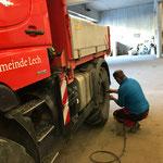 Zentrierringe nach Reifenwechsel bei U400 anbringen