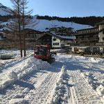 Schnee abschieben mit Snow Rabbit 3