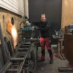Arbeiten in der Schlosserei