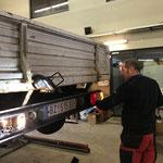 Beleuchtung reparieren VW-Pritsche alt