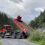 ...Materialtransporte mit U530