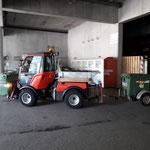 Müllrunde Spuller- und Formarinsee, mit Holder C70 SC