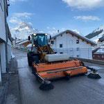 Lader 509 Kehrmaschine in Stubenbach