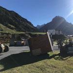 Sturmtief Fabienne's letzte Opfer beseitigen: Hütte aufstellen Skatepark