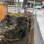 Wasserleitung reparieren Landbrugg
