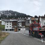 Schneestangen setzen in Stubenbach