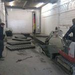 Bauhof-Waschhalle Grube ausbaggern und -pumpen
