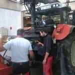 Service am Traktor, Steyr 6190 CVT
