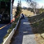 Winterwanderweg Rüfibahn vorbereiten