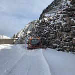 Linder Unitrac 102S, Schneeräumung beim Heizwerk Zürs