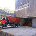 Aschecontainertransport mit U530