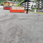 Ortsverschönerung: Müllzwicken am Schlosskopfparkplatz nach Groß-Veranstaltungen Transvorarlberg/Gore Tex Transalpin Run
