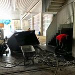 Adaptierungsarbeiten für neues Rolltor Garageneinfahrt Bauhof