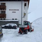 Holder C70 SC, Schneeräumung in Zürs