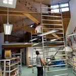 Beleuchtung fertigstellen Neue Mittelschule