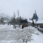 Lader 524, Schneeräumung im Zentrum