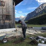 Terrassensanierung Gasthaus Älpele