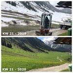 Baggerarbeiten Bernhards Alpstall