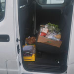 Nahrungsmitteltransport für Neue Mittelschule Lech - Schulkochen