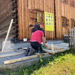 Sanierung Terrasse Huberhus