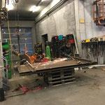 Weiderostsanierungen am Bauhof
