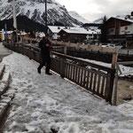 Skiständer Kronenbrücke montieren