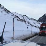 Klärschlammfahrt mit Unimog 530