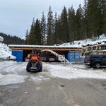 Schneeräumung Parkplätze Bauhof
