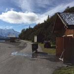 WC-Reinigungsdienst Spullersee 2015 (nach der Alpsaison)