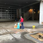 Asphaltschneidarbeiten Bauhof, Einfahrt Garage