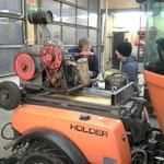 Seilwindenaufbau auf Holder C270