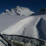 """Präparierung mit Paana Höhenwanderweg Gaisbühel, """"große"""" Runde"""
