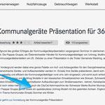 Kommunalgeräte Präsentation der Pappas Gruppe in Waidring Tirol, mit unserem U530