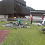 Spielplatz Schule - Wiederinstandsetzung Sandkasten
