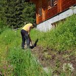 Wegsanierung Zugang Arlenzauberweg-Libellensee Oberlech