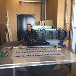 Aufbau Hängerfräse Ladewagen