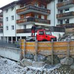 Schneestangen setzen Stubenbach, mit U1600